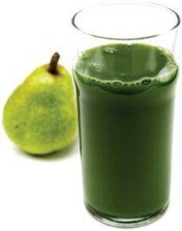 pear cabbage spinach cucumber zucchini lemon smoothie